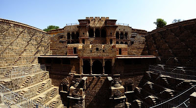 Chand Baori View Left Image