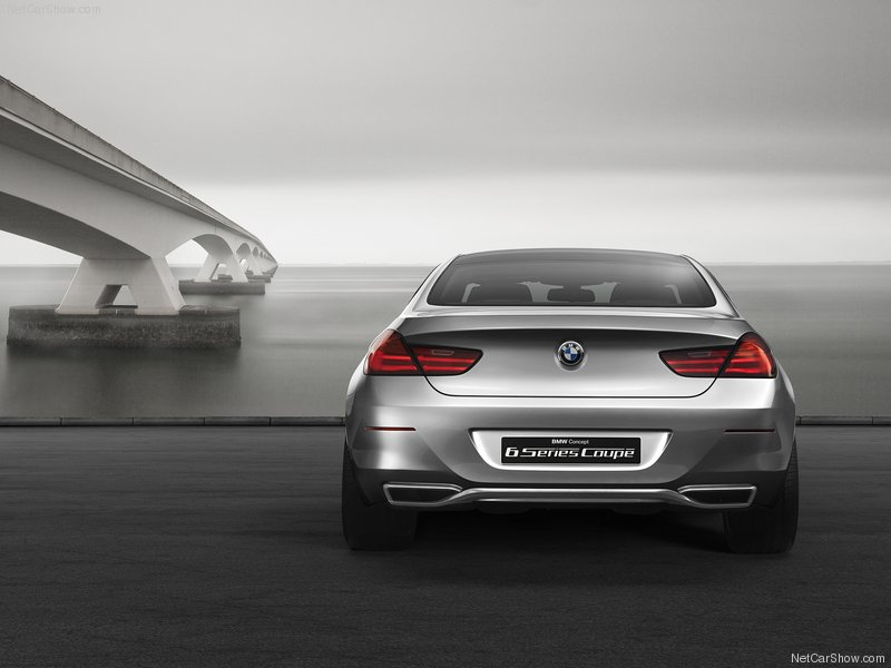 2010 Bmw 6 Series Coupe. The BMW 6-Series Coupé Concept