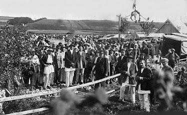 Inaugurarea târgului din Subcetate în 1935