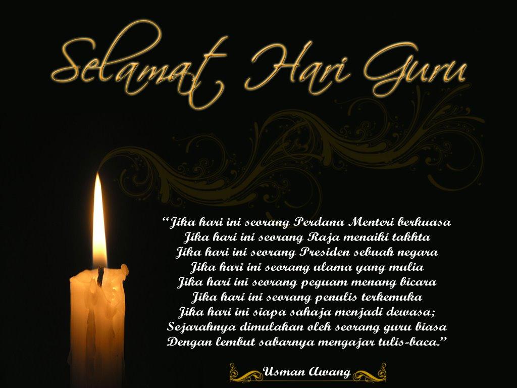 Ucapan Selamat Hari Guru 16 Mei 2012