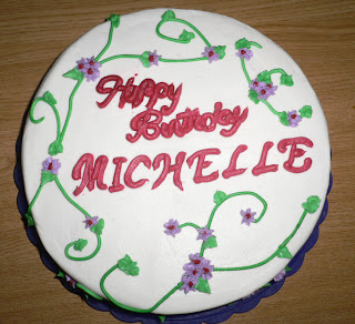 CakeStar: Happy Birthday Michelle