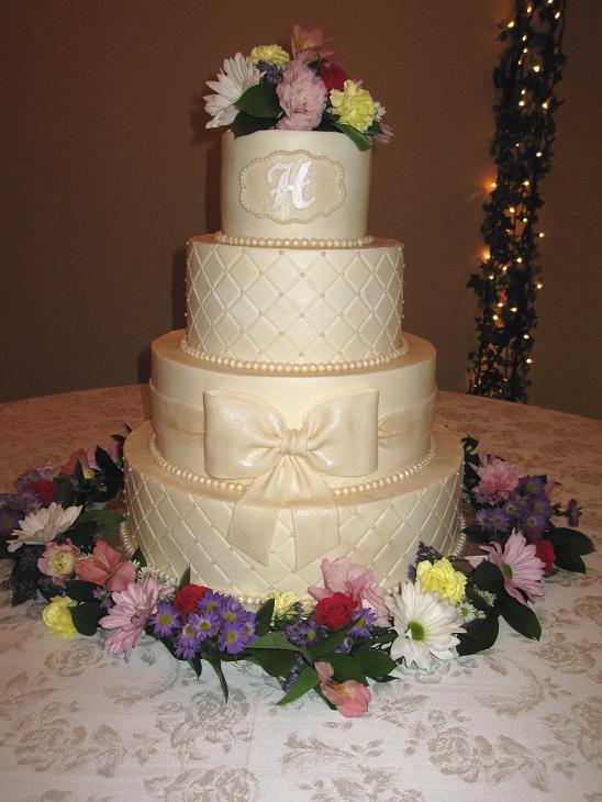 Wedding Cake Servings Per Cake