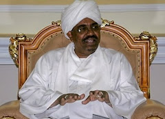 Omar al Bashir, President of Sudan and indicted by the International Criminal Court