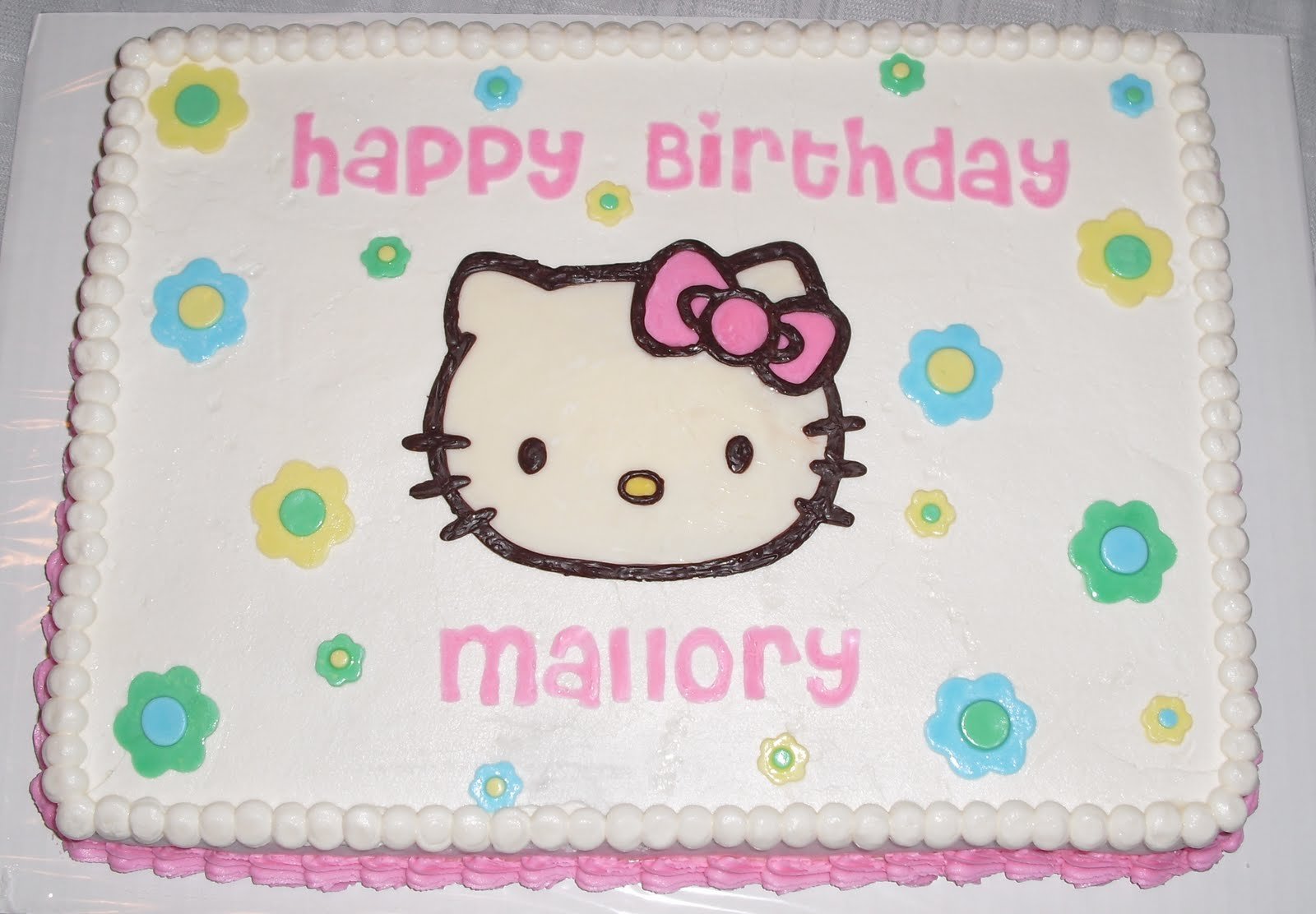 Hello Kitty Sheet Cake Images : Becky Kelly Cakes: Hello Kitty