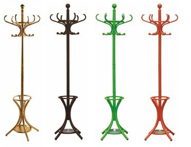 coat rack in four colors