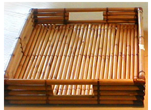 bamboo tray
