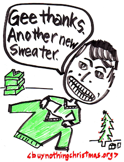 poster: Gee thanks. Another new sweater