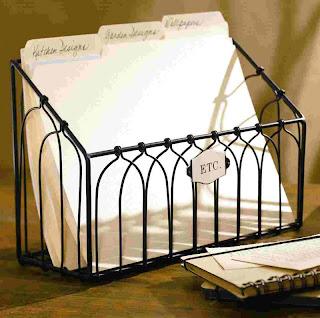 wire file folder holder