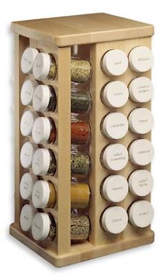 carousel spice rack