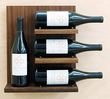 wine shelf