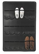 wall-hanging shoe storage option