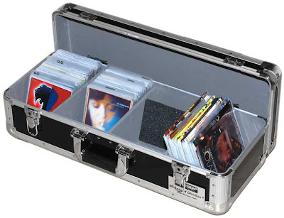 CD case with CDs inside