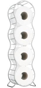 Splash toilet roll holder