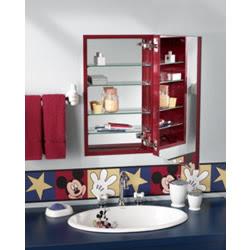 red medicine cabinet - Nutone