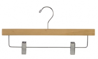 pants hanger with clips