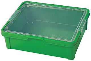 LEGO storage bin, green