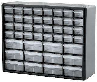 LEGO small parts storage cabinet