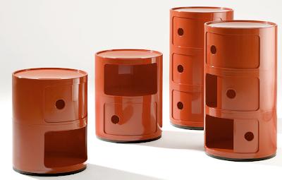round storage, red