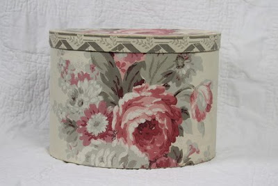 floral bandbox - bonnet size