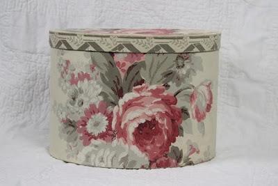 floral bandbox - bonnet size
