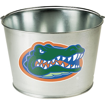 bucket with Florida Gators emblem