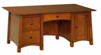 beautiful desk with drawers