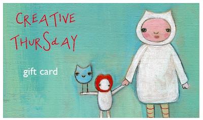 Creative Thursday gift card