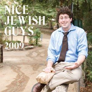 Nice Jewish Guys calendar cover