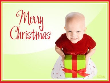 Merry Christmas from St. Jude's Children's research Hospital