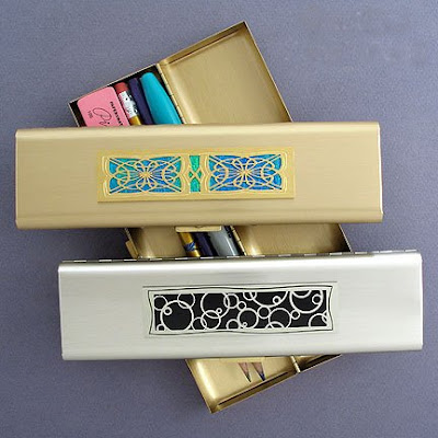 metal pencil cases