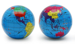 globe magnets
