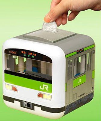 Japanese train bank