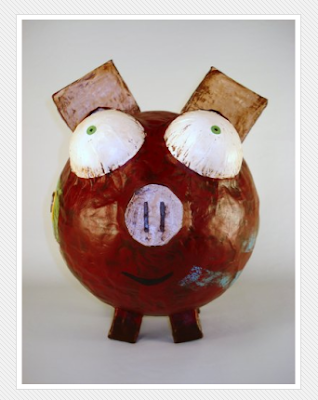 one-of-a-kind piggy bank