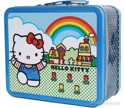 Hello Kitty rainbow lunch box