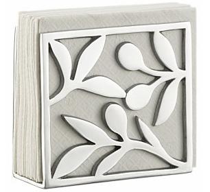 aluminum napkin holder
