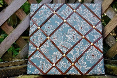 floral French memo board