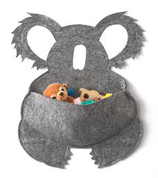 koala pouch, wool