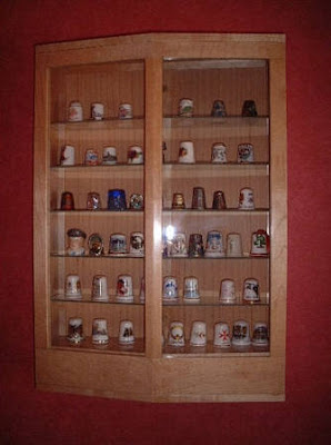 thimble display cabinet