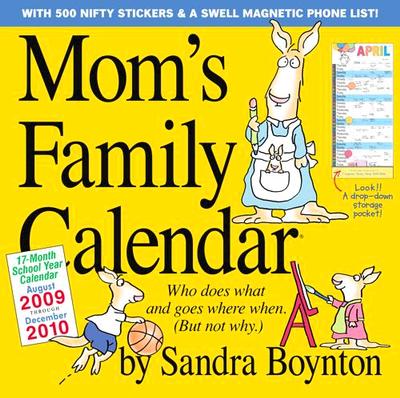 Sandra Boyton Mom's Family Calendar - front