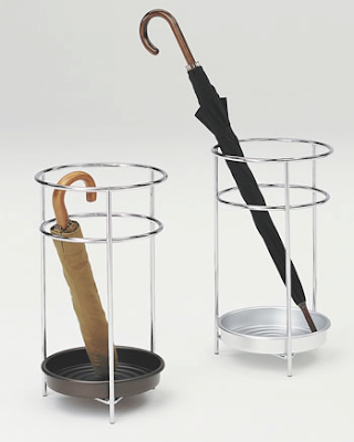 two simple umbrella stands