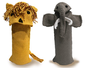wine bottle bags shaped like animals