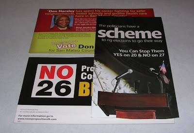election mailers