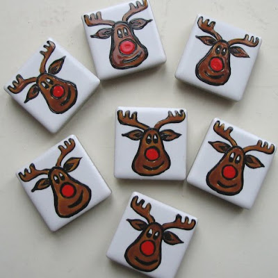 Rudolph reindeer magnets