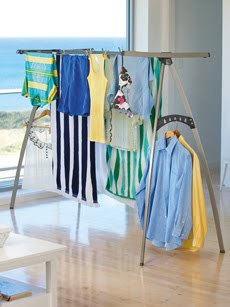 portable clothesline - drying rack