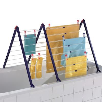 drying rack for bathtub