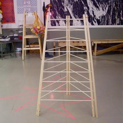 Shaker drying rack