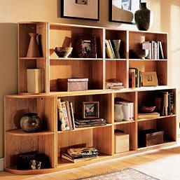 modular bookcase cubes