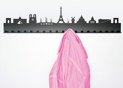hook with city skyline of Paris