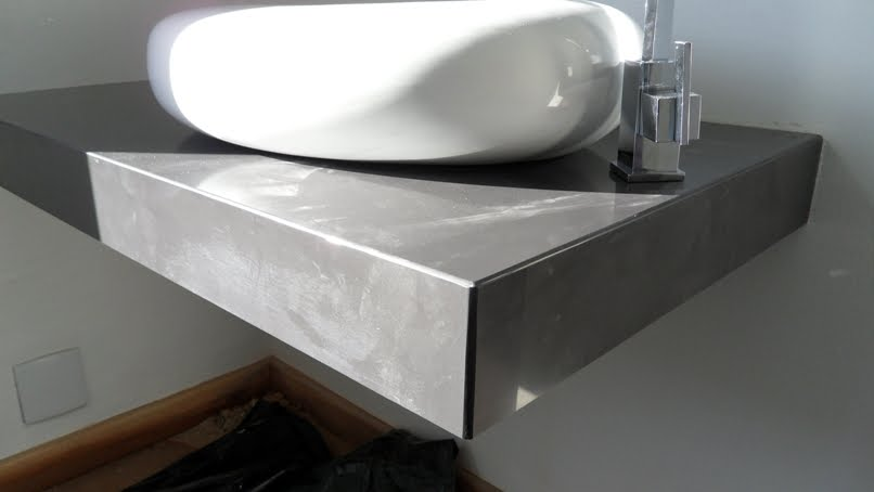 Bel Taglio , cortes especiais em porcelanato Bancada porcelanato preto Port # Bancada De Cozinha Em Porcelanato