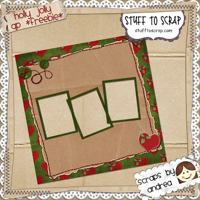 http://hereascrapthereascrap.blogspot.com/2009/07/christmas-in-july-sale-freebie.html